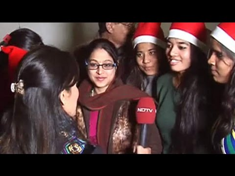 Christmas celebrations at the Sacred Heart Cathedral in Delhi