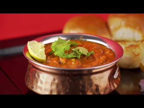 Easy Mumbai Style Pav Bhaji   Mumbai Pav Bajji Recipe   Annapoorna Masalas & Spices