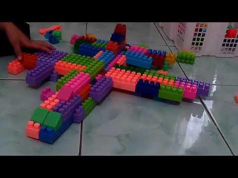 Cara membuat pesawat tempur dari lego