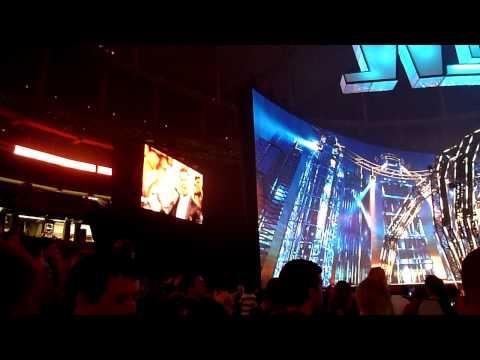 Wrestlemania 27 The Miz Entrance!