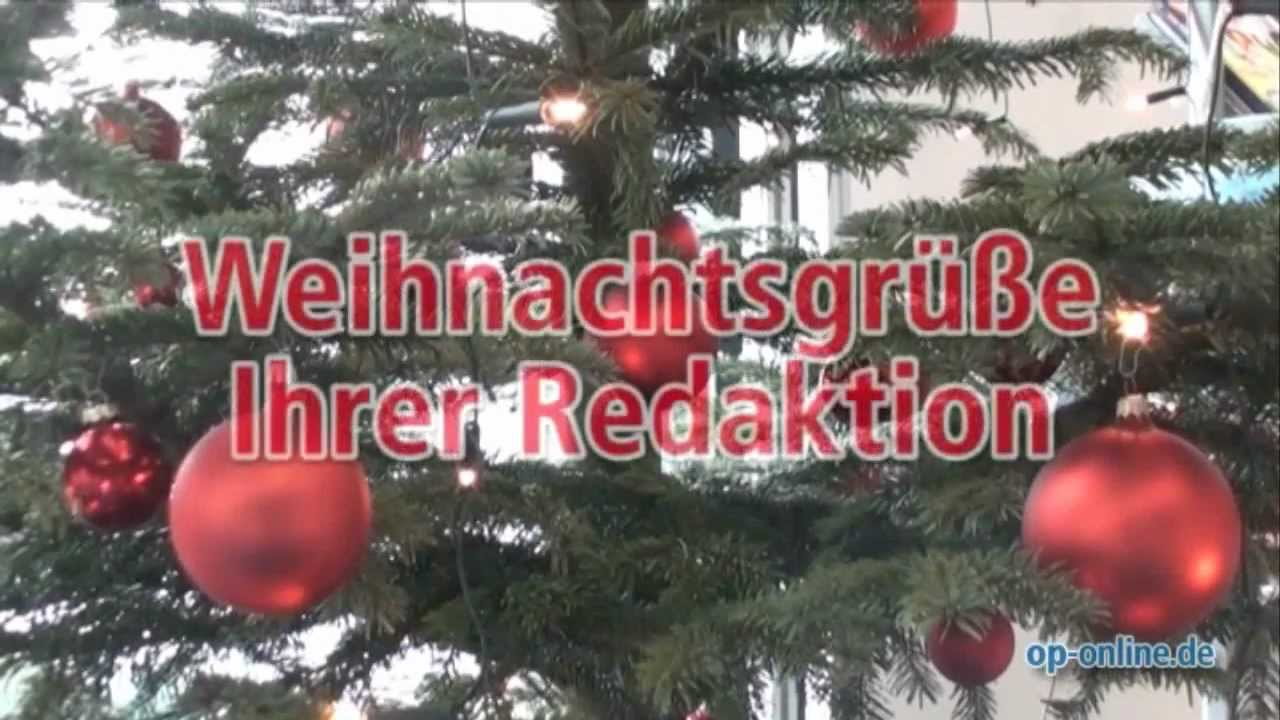 Weihnachtsgrüße Per Post.Weihnachtsgrüße Der Offenbach Post