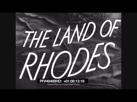 The Land of Rhodes - Travelogue, Rhodesia, South Africa, Cecil Rhodes  40400 HD