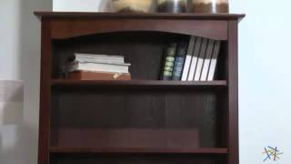 Davinci Roxanne Wood Bookcase With Drawer - Product Review Video