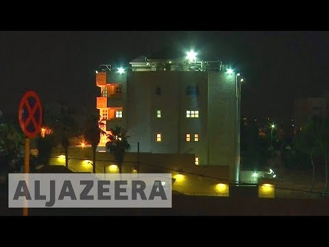 Amman attack: Two killed at shooting at Israel embassy