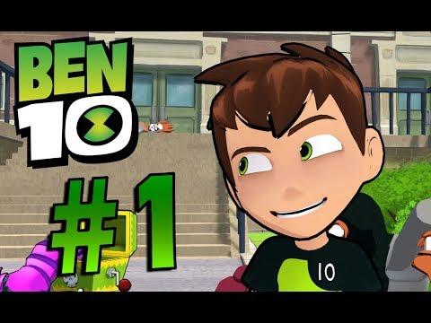 NEW BEN 10 GAME! Ben 10 Gameplay Walkthrough Part 1 - YouTube