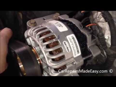 Ford 7 3L Powerstroke Diesel Alternator Replacement