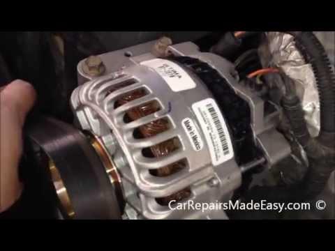dual alternator wiring diagram 150w hps ballast ford 7.3l powerstroke diesel replacement procedure - youtube