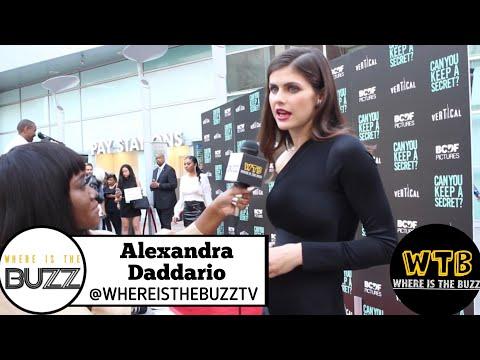 CAN YOU KEEP A SECRET?: Alexandra Daddario Talks Women Equal Pay And Feminisms