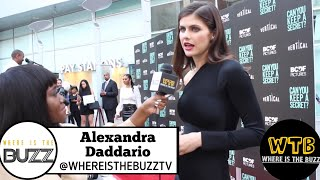 CAN YOU KEEP A SECRET?: Alexandra Daddario Talks Women Equal Pay And Feminisms