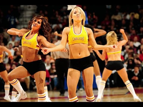 new styles 95f57 ce77a cheerleaders Cleveland Cavaliers