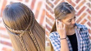 Double Braid Tieback | Cute Girls Hairstyles
