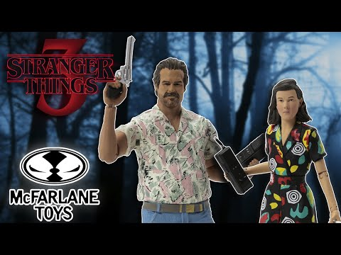 Stranger Things Season 3 Chief Hopper and Eleven   Action Figure Review