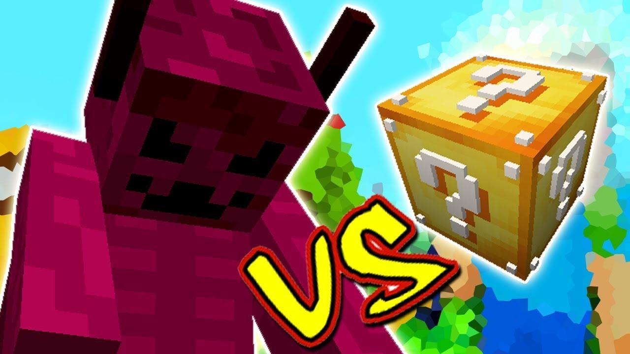 Monstro Infernal Vs Lucky Block Minecraft Lucky Block Challenge