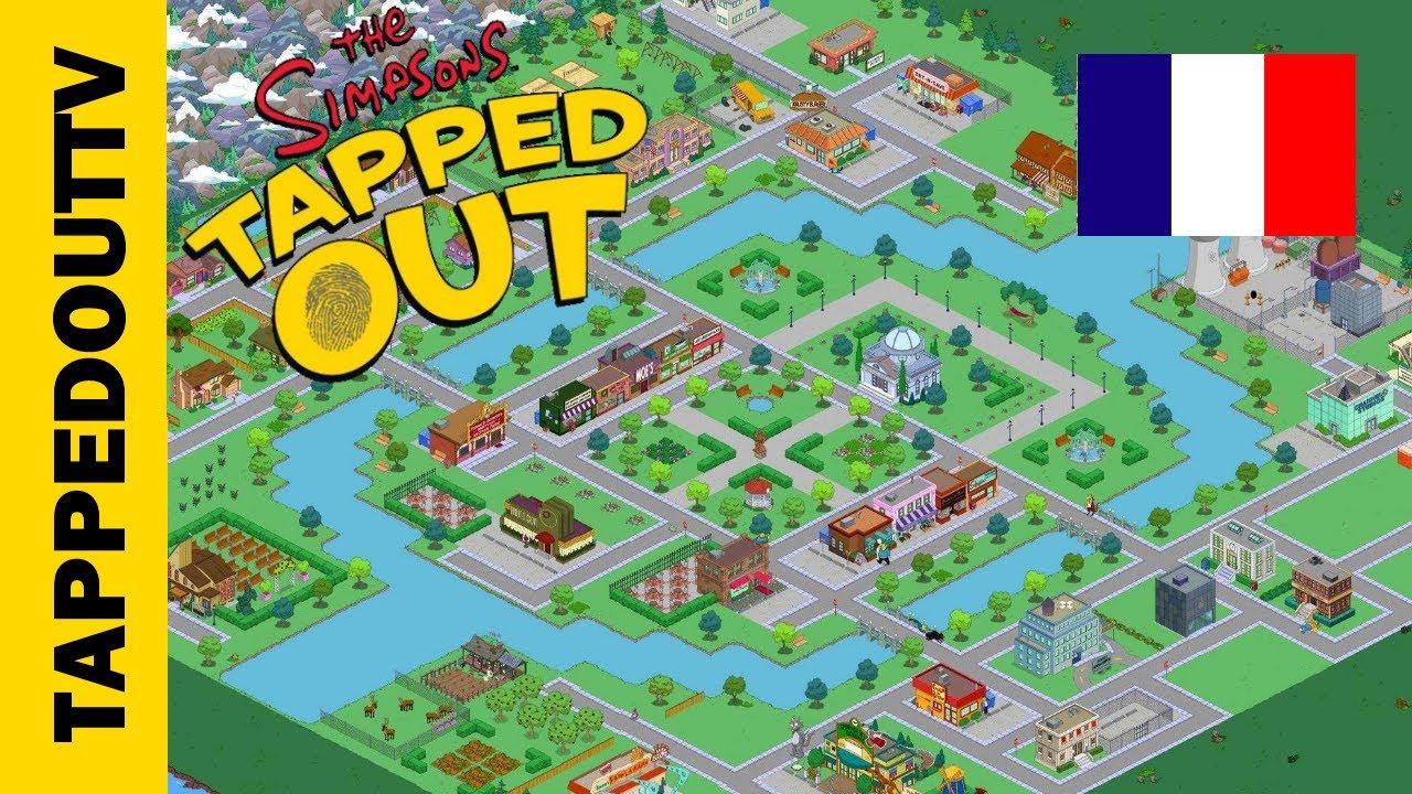 Carte De La Ville De Springfield