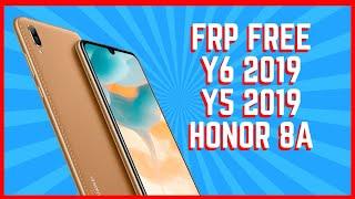 Quitar Cuenta Google Huawei Y5 2019 - Y6 2019 - Honor 8A Test Point - FRP AMN JAT MRD FULL