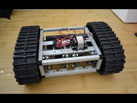 How I built my Tracked Robot