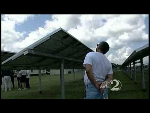 Teachers Become Students At Solar Plant