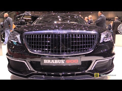 2019 Mercedes Maybach S650 Brabus 900 - Exterior And Interior Walkaround - 2019 Geneva Motor Show