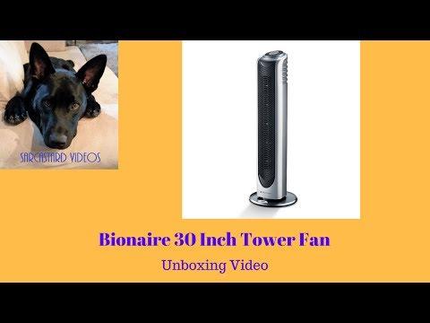 Bionaire Tower Fan BT90R-IUK - Quick Demo   Doovi