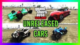 GTA 5  - *ALL UNRELEASED CARS* (Prices, Upgrades, Performance Test) THEY FINALLY ADDED GOOD CARS!!
