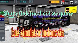 Share link mod còi xe game bus simulator indonesia