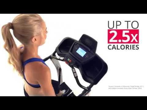 The Bowflex TreadClimber TC100 Walking Cardio Machine