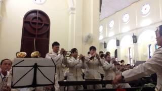 Kèn đồng Phượng Giáo - Tiếng nhạc oai hùng - Thánh lễ tạ ơn giám mục giáo phận Bắc Ninh