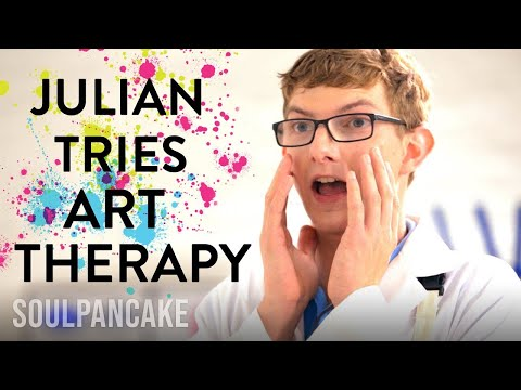 Julian's Art Therapy Session! | The Science of Happiness