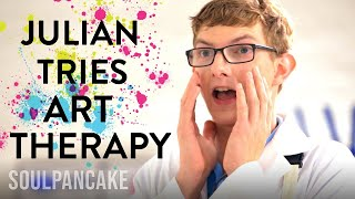Julian's Art Therapy Session!   The Science of Happiness