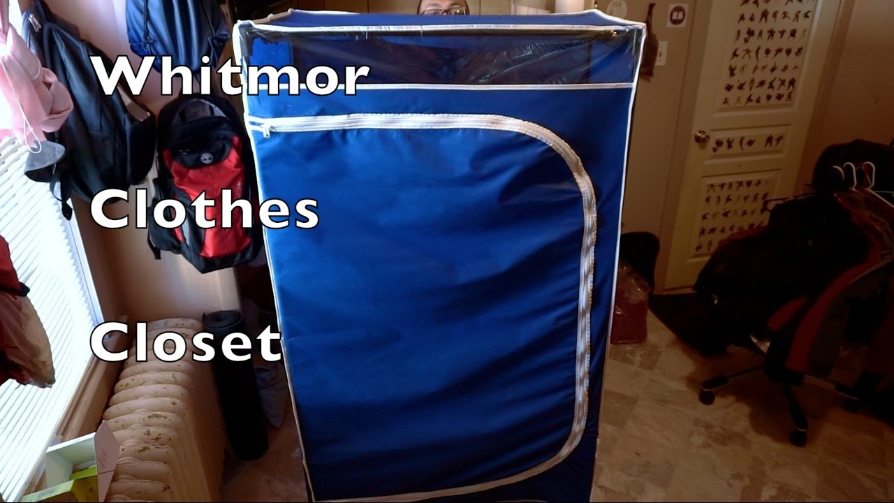 9 Months With The Whitmor Clothes Closet!   Blue
