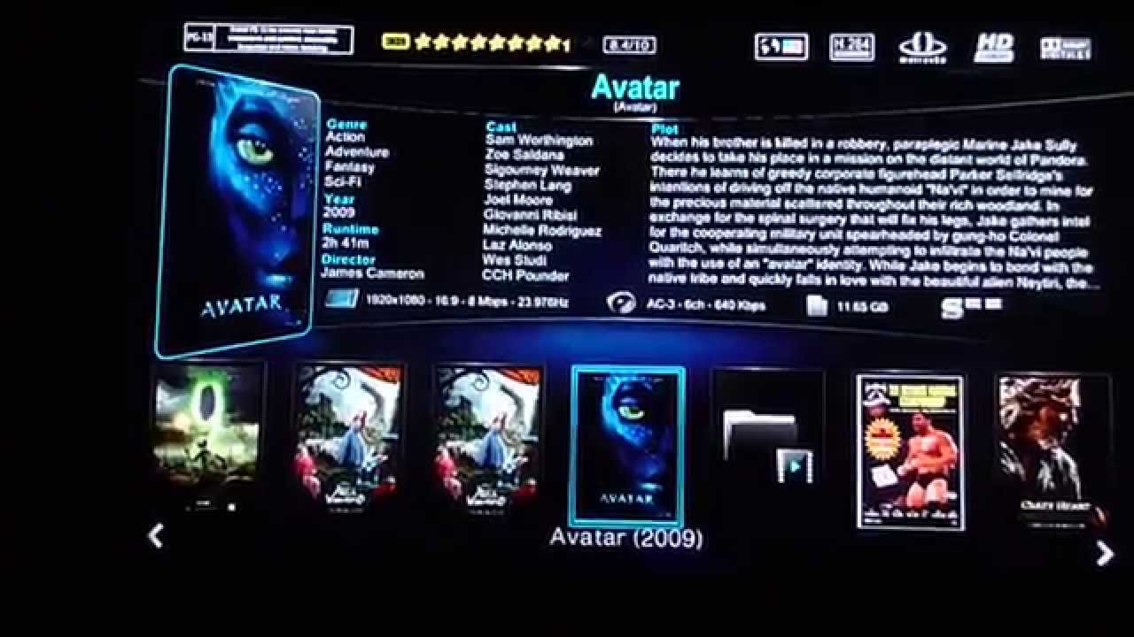 Copy of WDTV Live Custom Firmware (Movie Sheets, Synopsis, Covers, Fanart,  b-Rad)