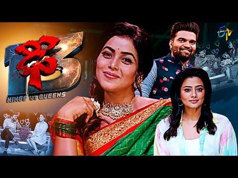 Download Dhee 13 | Kings vs Queens | Sudheer, Rashmi, Aadi, Pradeep | 6th October 2021 | Full Episode | ETV