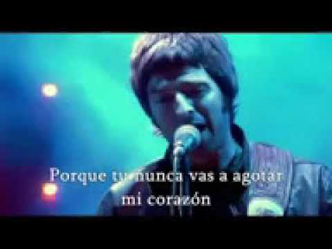 Oasis Don T Look Back In Anger Traducida En Español Youtube Youtube