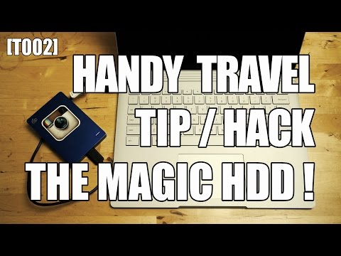 [T002] The Magic HDD Travel Hack