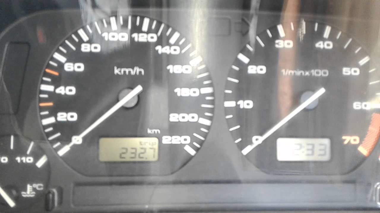 Ref Counter And Speedometer Not Working Vw Polo 1998 Youtube