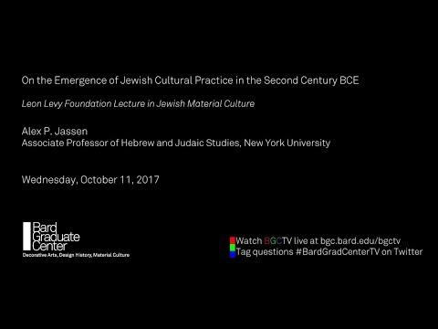 On the Emergence of Jewish Cultural Practice in the Second Century BCE