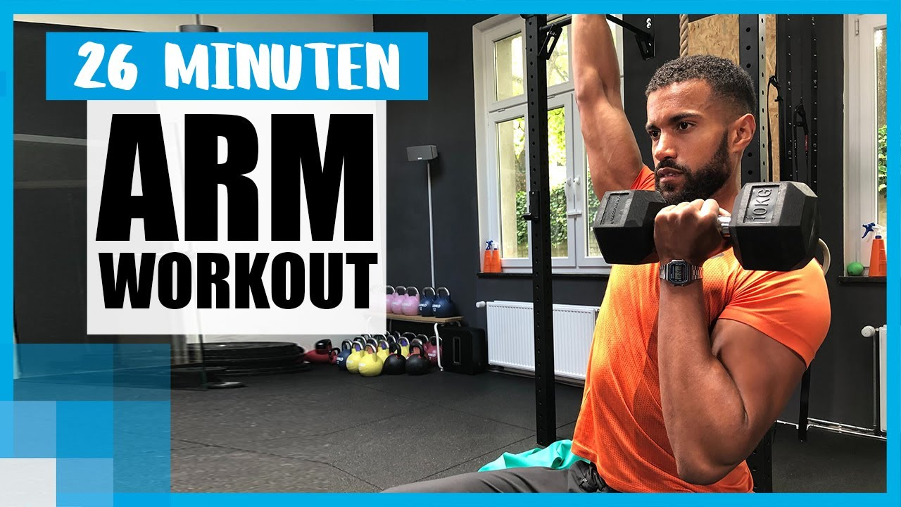26 MIN Workout: Trainierte Arme mit Coach Kofi 💪  | mit Gewichten