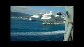 Busy Port Day in St. Maarten