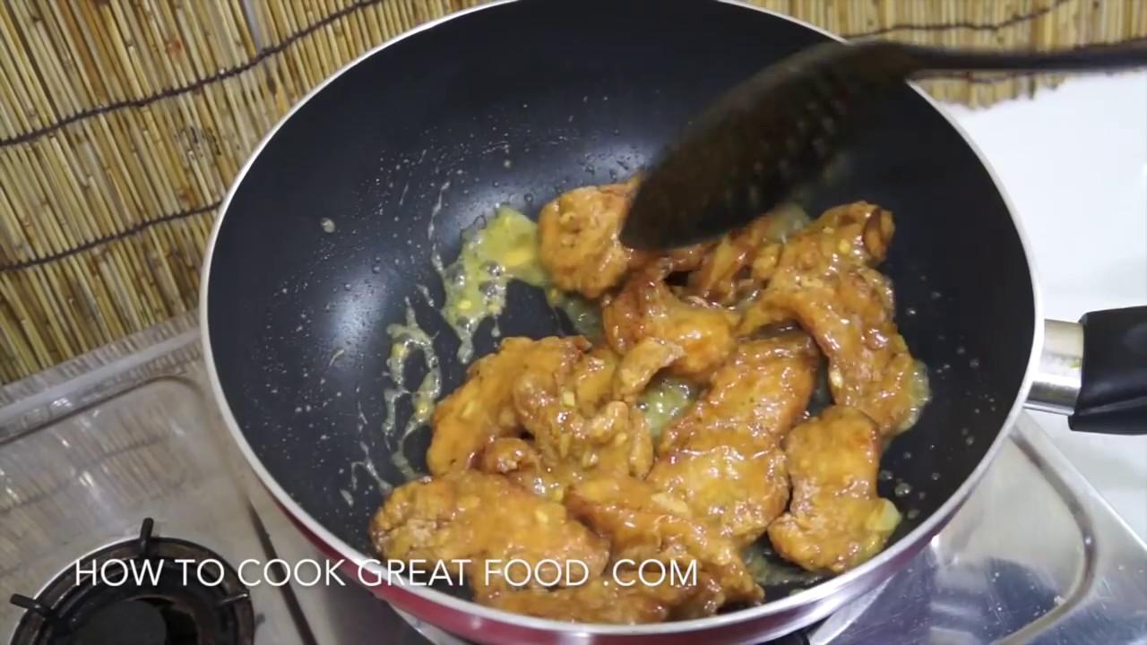Chinese crispy lemon chicken recipe youtube chinese crispy lemon chicken recipe forumfinder Images