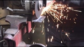 Metal Cutting with Abrasive Discs