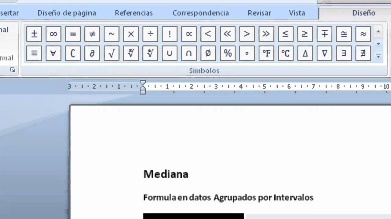 Como Crear Ecuaciones en Word - YouTube