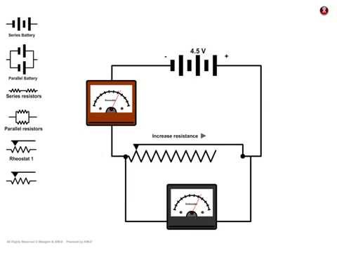 Circuit Diagram Ammeter Voltmeter Youtube