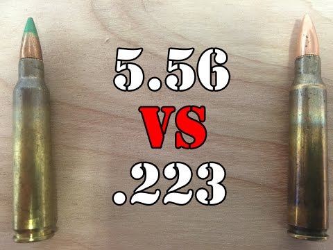5.56 vs.223: What is the difference?