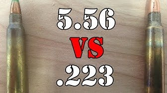 5.56 vs .223: What is the difference?