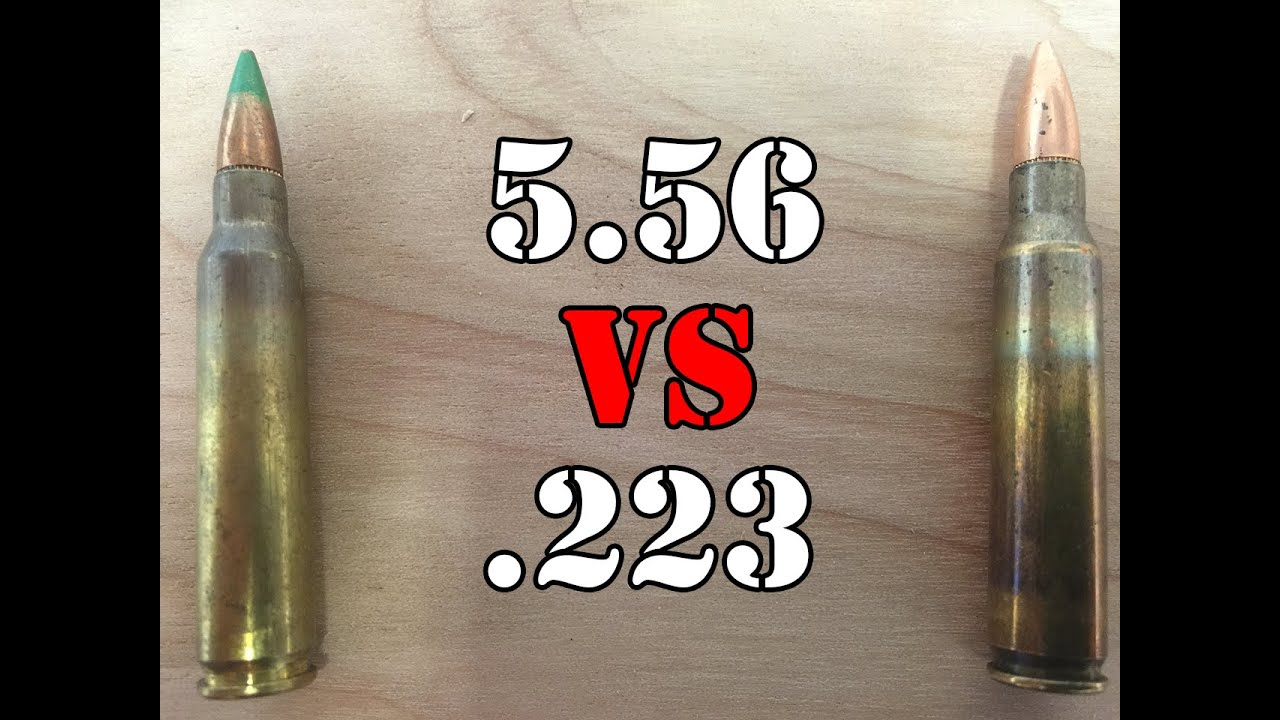 5 56 vs 223 what is the difference youtube