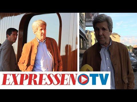 John Kerrys hyllning till Sverige: 'Fantastiskt'