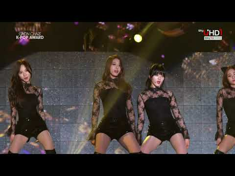 AOA   Miniskirt Acoustic ver  + Short Hair + Like a Cat 150128 UHD 4th Gaon Chart K Pop Awards