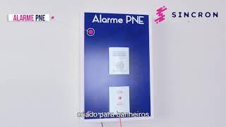 Alarme PNE (para banheiros de Portadores de Necessidades Especiais)
