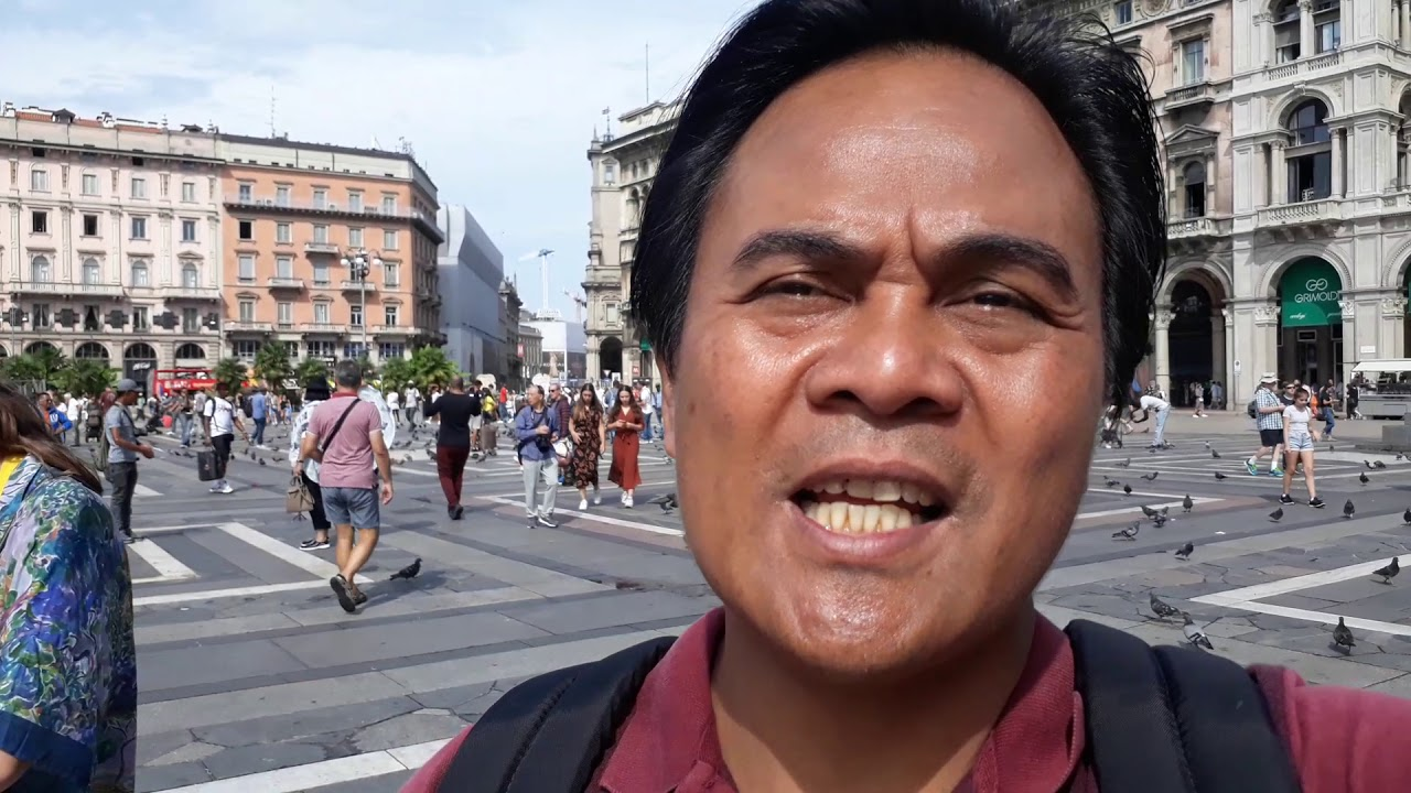 Vlog Ciaaattt tour eropa -  duomo milan 2019