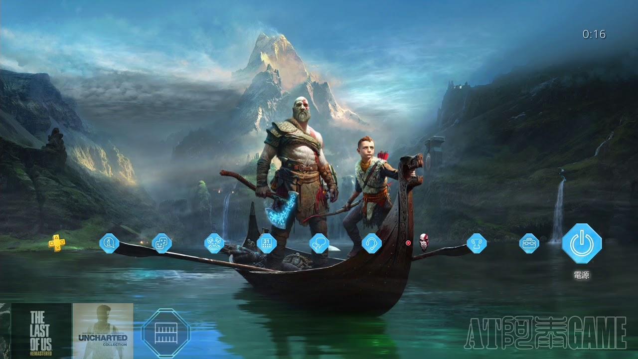 【PS4】戰神4 動態主題/God of War 4 - Dynamic Theme - YouTube